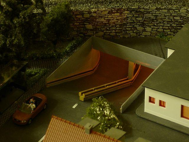 Diorama Pentru Trenulet Electric