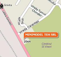 [localizarea Minimodel Teh srl pe harta]