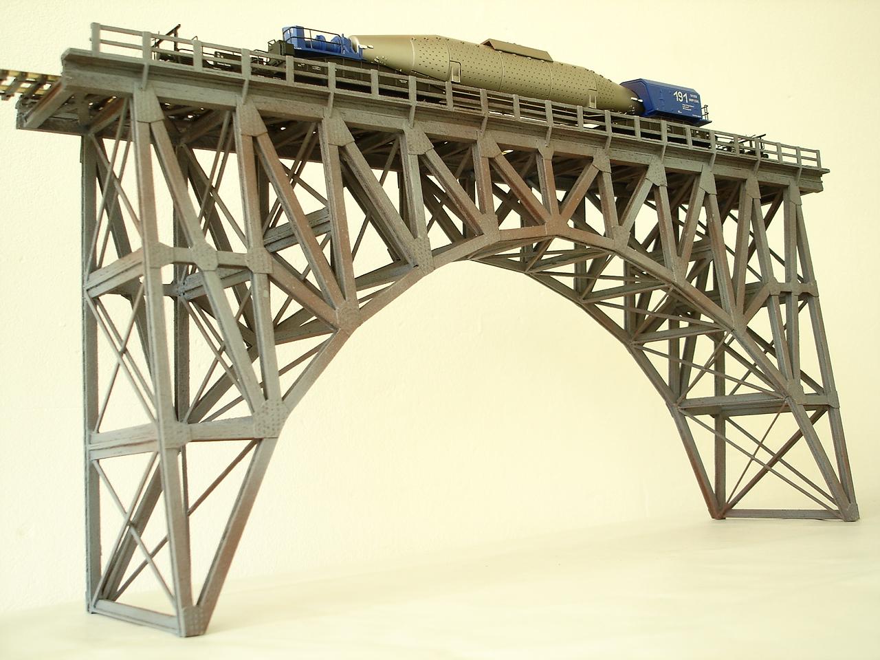 Pod viaduct pentru diorame si machete trenulete electrice